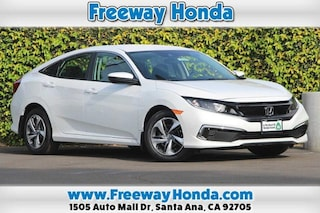 New 2020 Honda Civic LX Sedan For Sale in Santa Ana, CA