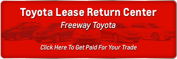 Toyota Lease Return near Fresno CA