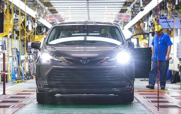 30 Million Toyotas produced in U.S.
