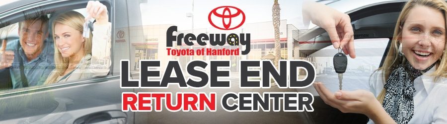 Toyota Lease End Center near Fresno