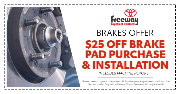 Toyota Brake Service Coupon