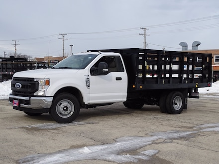 Featured New  2021 Ford Super Duty F-350 DRW XL STAKE BODY Truck Regular Cab for Sale in Lyons, IL