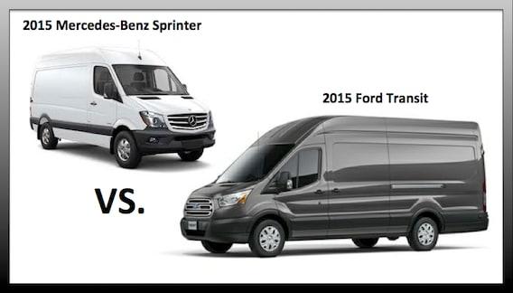 2015 Ford Transit Van vs Sprinter for Melrose Park, IL