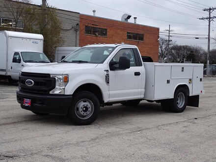 Featured New  2020 Ford F-350 XL SERVICE BODY Truck Regular Cab for Sale in Lyons, IL