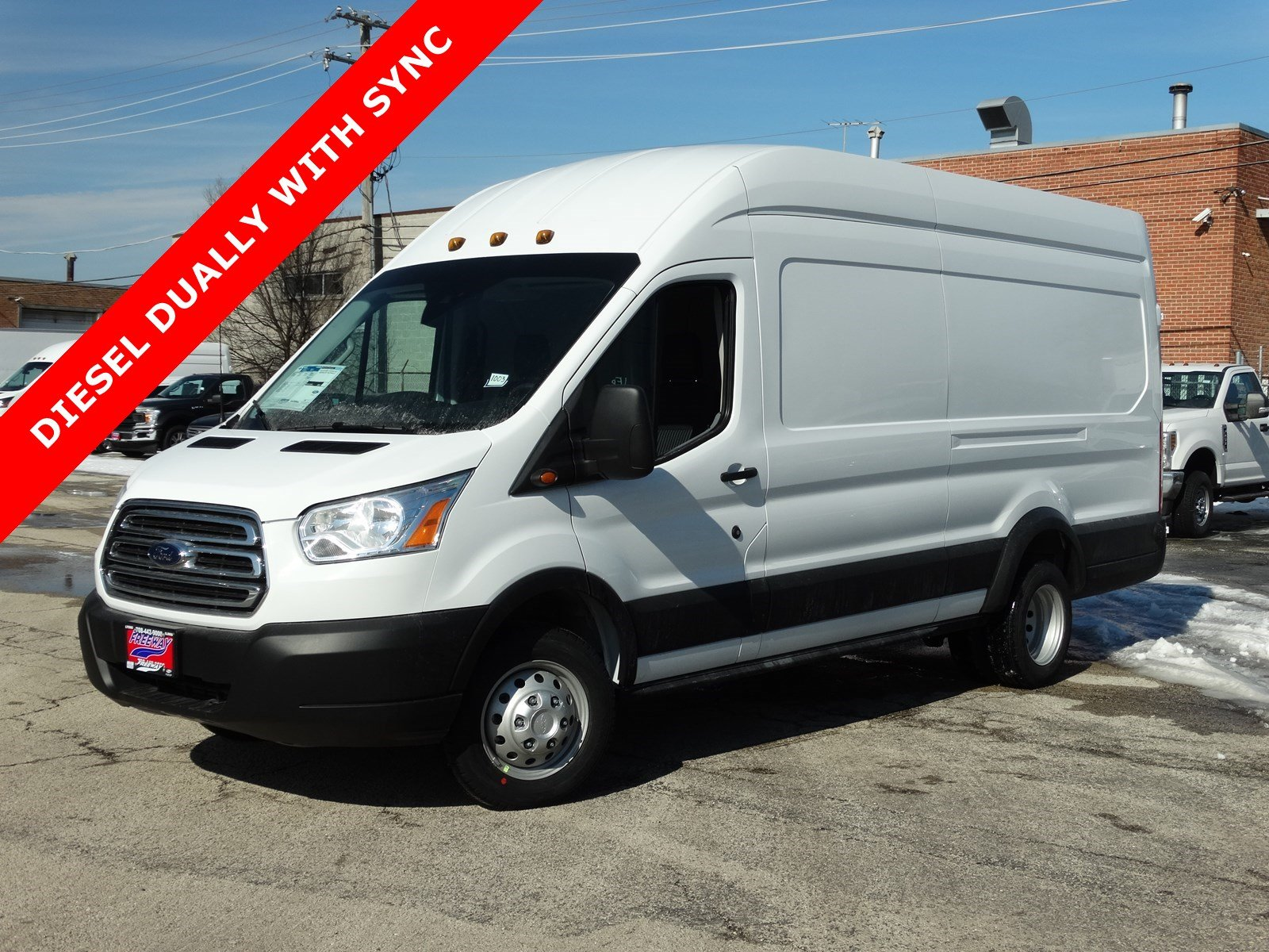 Ford Transit Van >> New 2019 Ford Transit Van Van High Roof Hd Ext Cargo Van For Sale Lyons Il Vin 1ftws4xv2kka59068