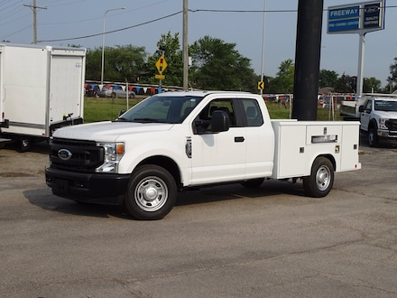 Featured New  2021 Ford Super Duty F-350 SRW XL Truck Super Cab for Sale in Lyons, IL