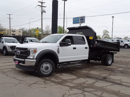 Featured New  2021 Ford Super Duty F-550 DRW XL CREW CAB Truck Crew Cab for Sale in Lyons, IL