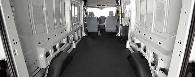 2a6263927b 2017 Ford Transit Cargo Van Interior Offers Utility   Versatility