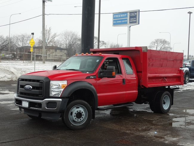 Used Dump Trucks >> Used 2012 Ford F450 W Ext Cab 4x4 9 Dump For Sale Lyons Il