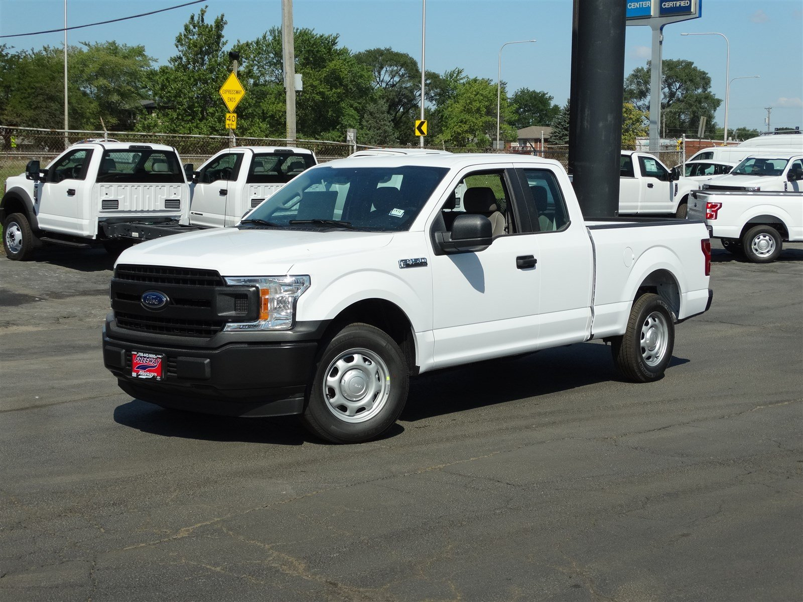 2018 Ford F-150 XL Extended Cab Pickup Truck SuperCab Styleside