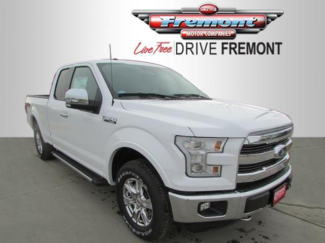 2016 Ford F-150 4WD Supercab 145 Lariat Extended Cab Pickup