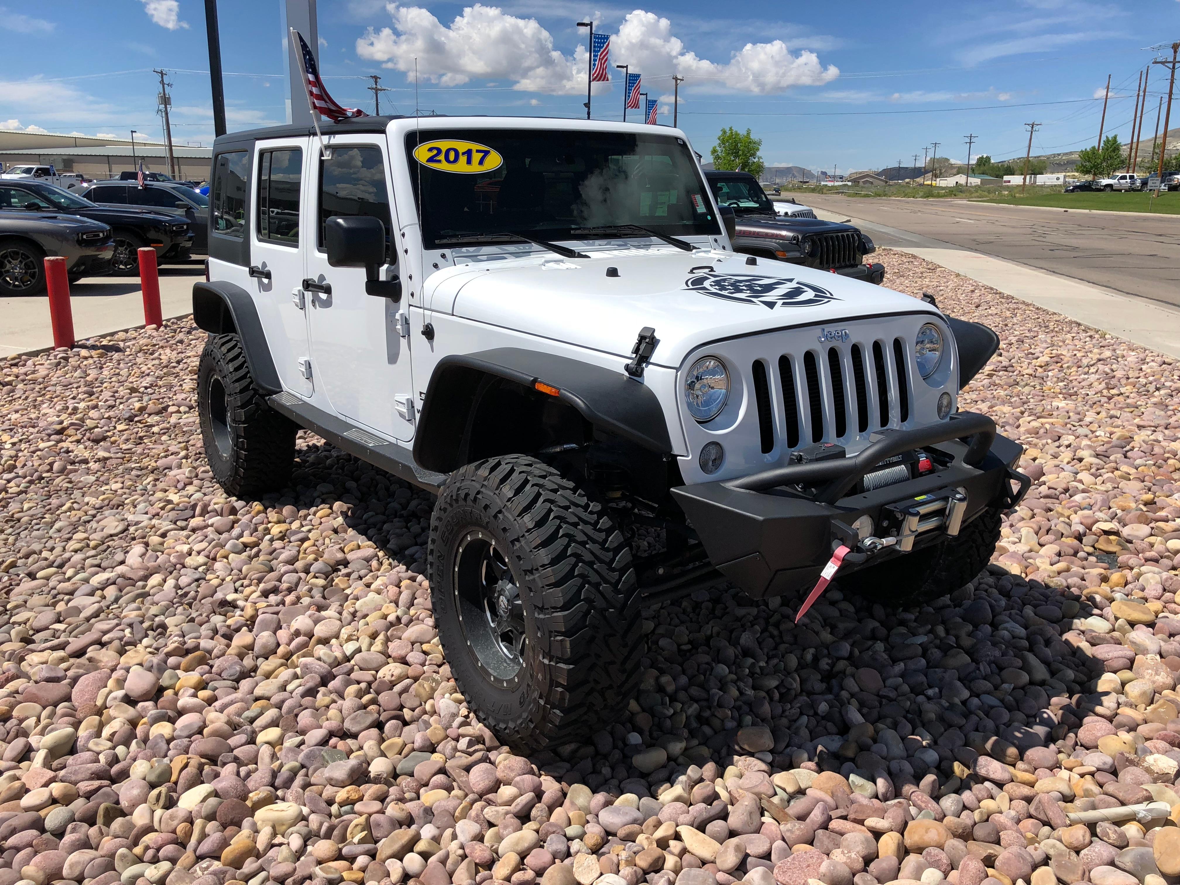 2017 Jeep Wrangler JK UNLIMITED SPORT 4X4 Sport Utility