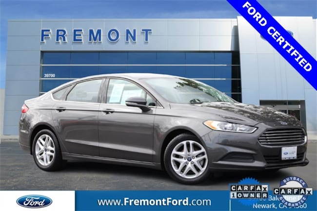 Certified Pre-owned 2016 Ford Fusion SE Sedan for sale in Newark, CA