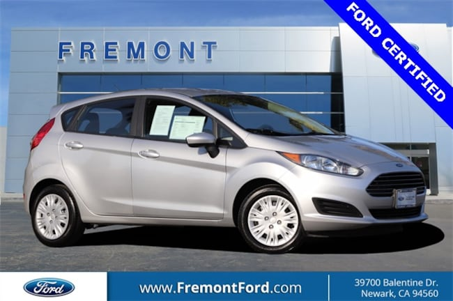 Certified Pre-owned 2015 Ford Fiesta S Hatchback for sale in Newark, CA