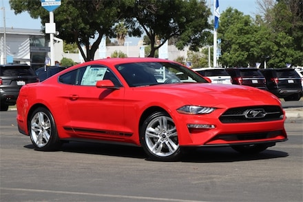 Featured New 2021 Ford Mustang Ecoboost Premium Coupe for Sale in Newark, CA