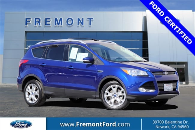 Certified Pre-owned 2016 Ford Escape Titanium SUV for sale in Newark, CA