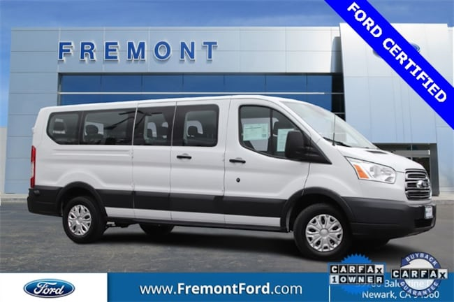 Certified Pre-owned 2017 Ford Transit-350 XLT Wagon for sale in Newark, CA