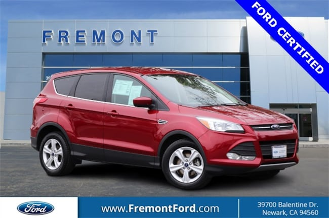 Certified Pre-owned 2016 Ford Escape SE SUV for sale in Newark, CA