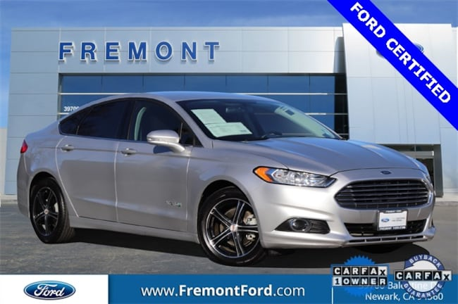 Certified Pre-owned 2015 Ford Fusion Hybrid SE Sedan for sale in Newark, CA