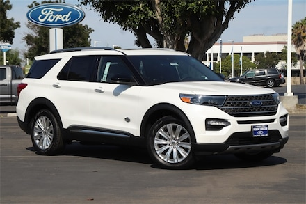 Featured New 2021 Ford Explorer King Ranch SUV for Sale in Newark, CA