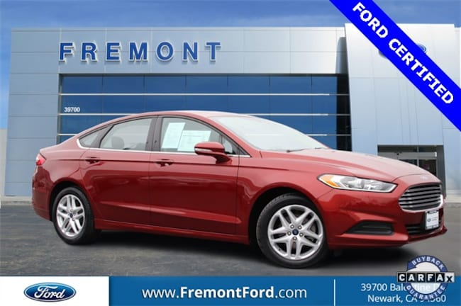 Certified Pre-owned 2014 Ford Fusion SE Sedan for sale in Newark, CA