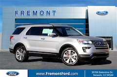 Certified Pre-owned 2018 Ford Explorer Limited SUV for sale in Newark, CA