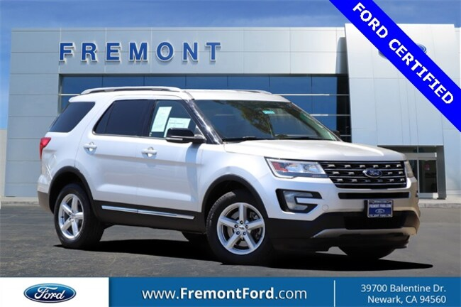 Certified Pre-owned 2016 Ford Explorer XLT SUV for sale in Newark, CA