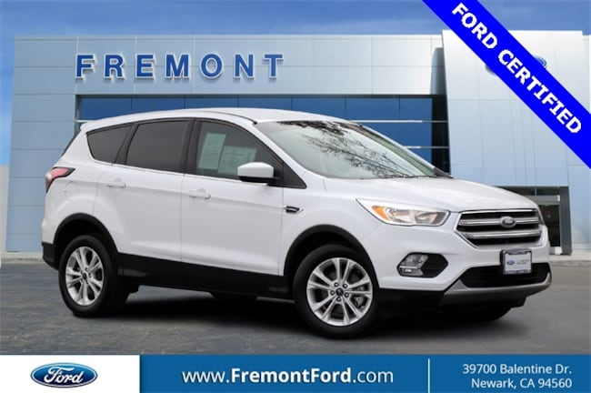 Certified Pre-owned 2017 Ford Escape SE SUV for sale in Newark, CA