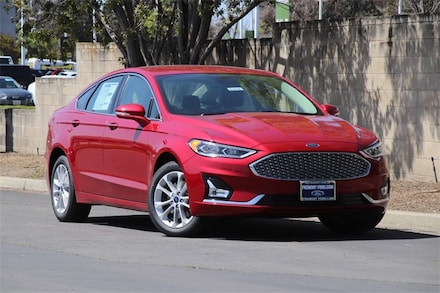 Featured New 2020 Ford Fusion Energi Titanium Sedan for Sale in Newark, CA