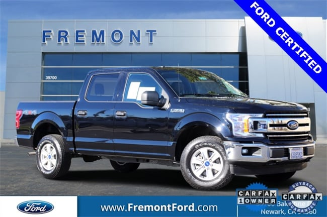 Certified Pre-owned 2018 Ford F-150 XLT Truck for sale in Newark, CA