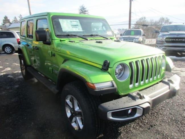 New 2019 Jeep Wrangler UNLIMITED SAHARA 4X4 Sport Utility for sale/lease in Lewistown