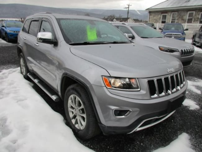 Used 2015 Jeep Grand Cherokee Limited SUV for sale in Lewistown, PA