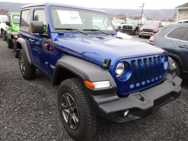 New 2019 Jeep Wrangler for sale in Lewistown, PA near State