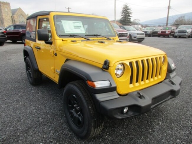 New 2019 Jeep Wrangler SPORT 4X4 Sport Utility for sale/lease in Lewistown