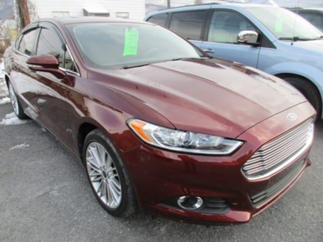 Used 2016 Ford Fusion SE Sedan Lewistown PA