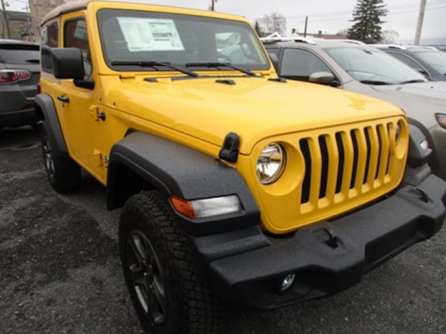 New 2019 Jeep Wrangler SPORT S 4X4 Sport Utility for sale/lease in Lewistown