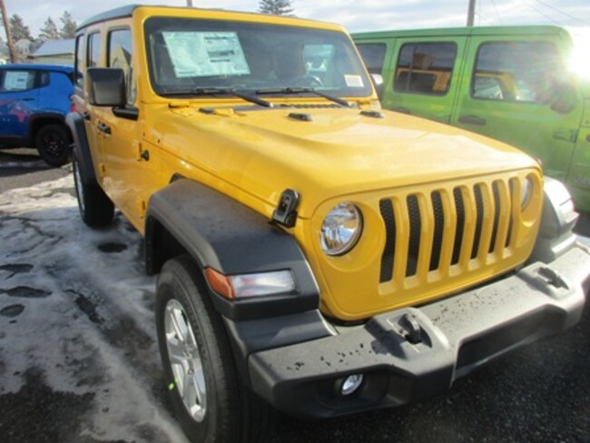 New 2019 Jeep Wrangler UNLIMITED SPORT S 4X4 Sport Utility for sale/lease in Lewistown