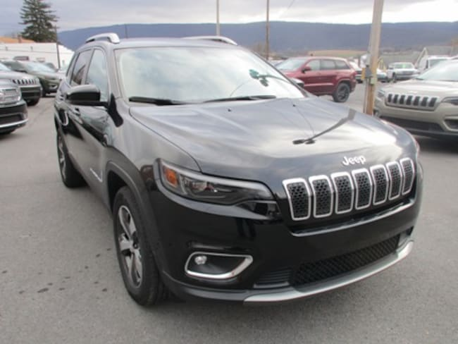 New 2019 Jeep Cherokee LIMITED 4X4 Sport Utility for sale/lease in Lewistown