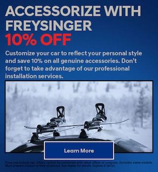 Accessories 10% off