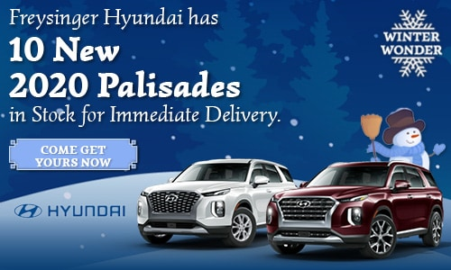 January 2020 Hyundai Palisade Offer