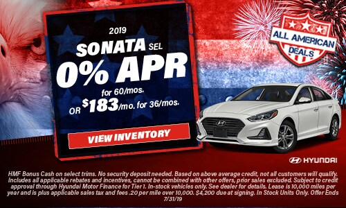 July 2019 Sonata Special