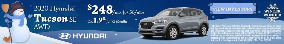 January 2020 Hyundai Tucson Offer