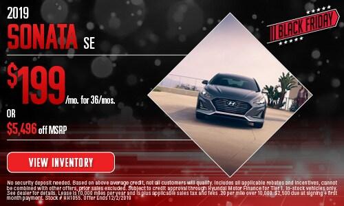 November Sonata SE Offer
