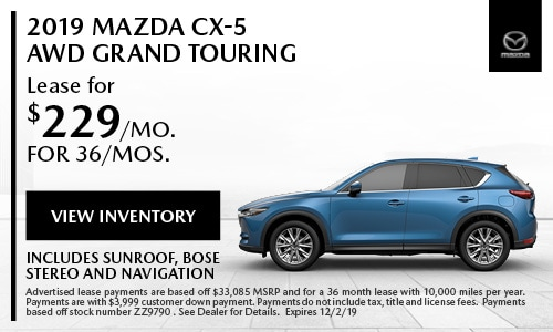 November Mazda CX-5 Special