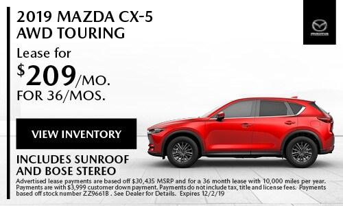November Mazda CX-5 Touring Special