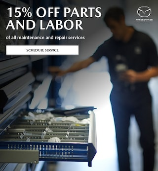 15% Off Parts and Labor