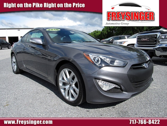 Genesis Coupe 2016 >> Used 2016 Hyundai Genesis Coupe For Sale At Freysinger Mazda Vin Kmhht6kj5gu136948