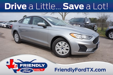 Featured New 2020 Ford Fusion S Sedan for Sale in Crosby, TX