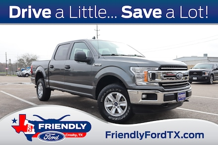 Featured Used 2020 Ford F-150 XLT 4x4 Truck for Sale near Houston, TX