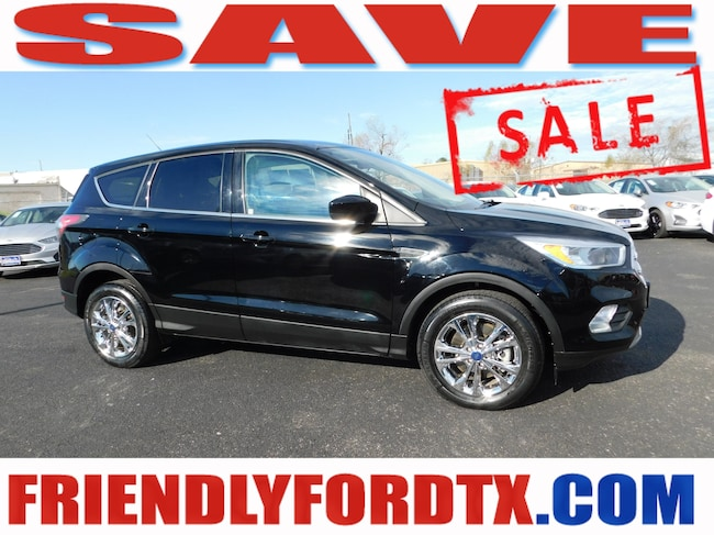 Used 2017 Ford Escape SE SUV For Sale Near Houston, TX